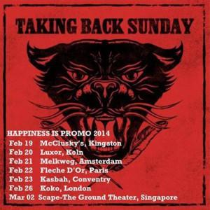 TAKING BACK SUNDAY live in Köln