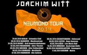 JOACHIM WITT - Neumond Tour 2014