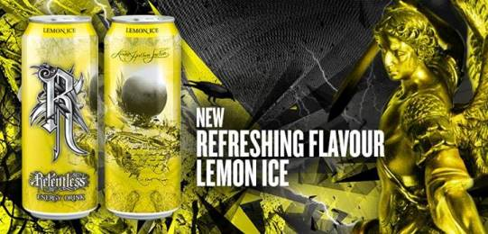 Relentless Energy Drink Lemon Ice
