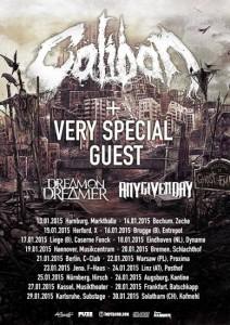 Caliban - Ghost Empire Europa Tour 2015