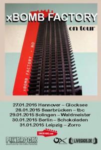 xBOMB FACTORY Tour 2015