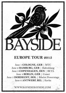 BAYSIDE - Tour 2015