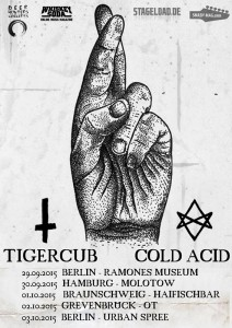 Tigercub - Tour 2015