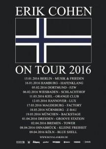 Erik-Cohen Tourdaten