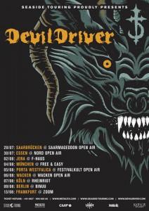 Devil Driver Tour 2016