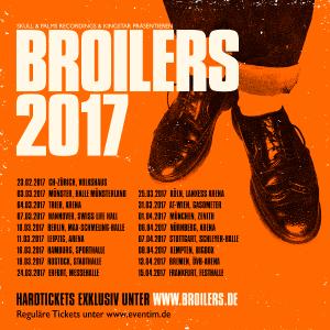 Broilers Tourposter