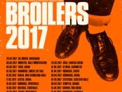 BROILERS – Tourdaten für 2017