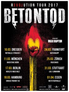 BETONTOD: Revolution Tour 2017