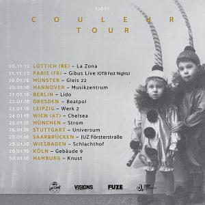 FJØRT - COULEUR Tour 2017/2018