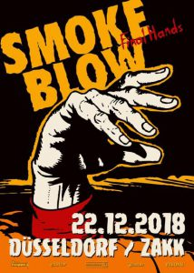Smoke Blow Final Hands 2018