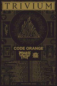 TRIVIUM kündigen eine Tour für 2018 an